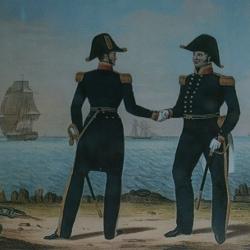 captain's uniforms print